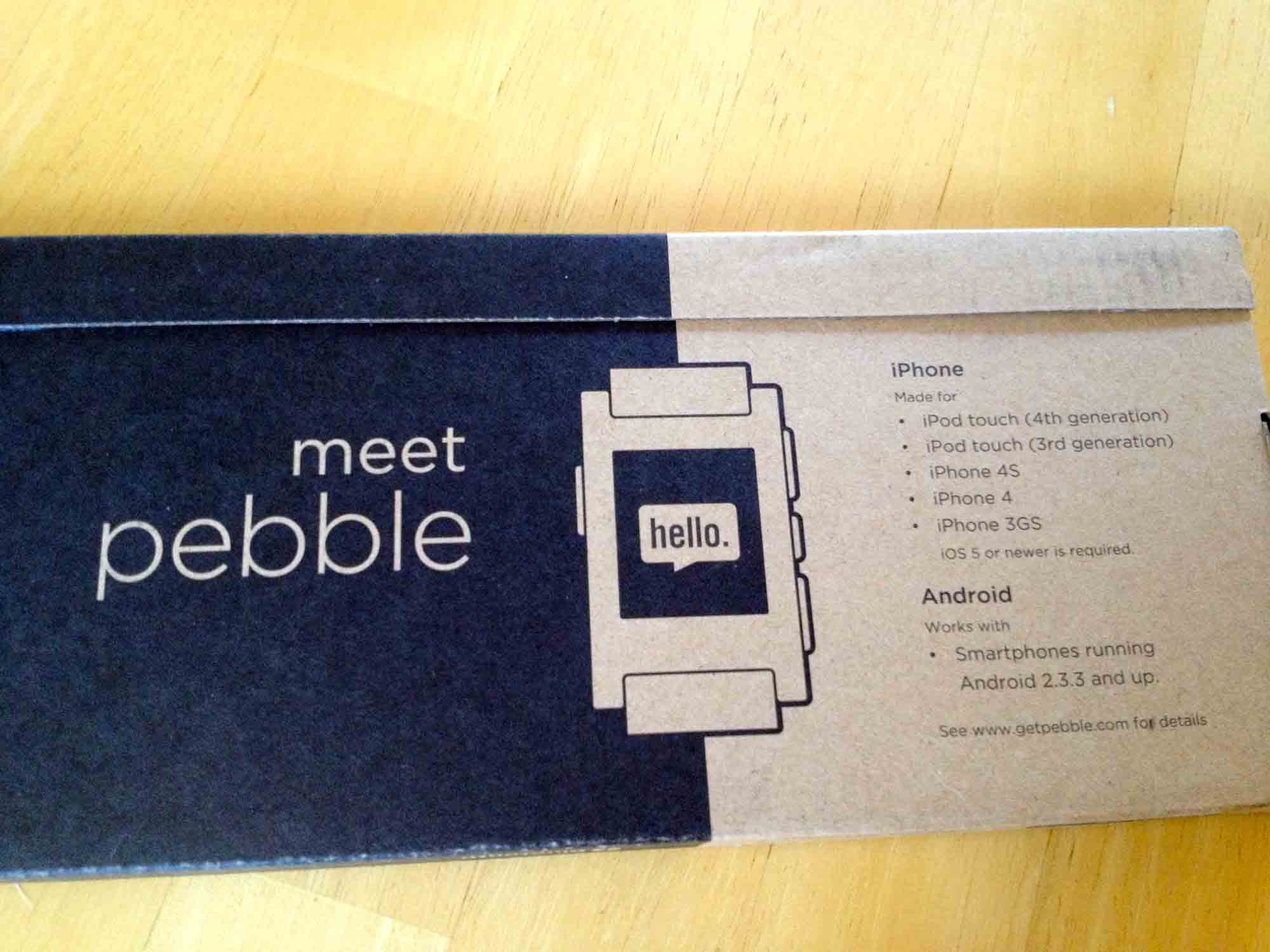 Pebble's Box