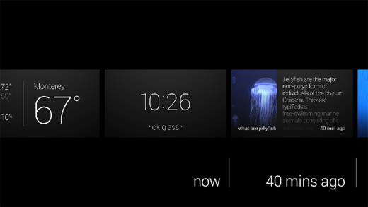Google Glass Timeline