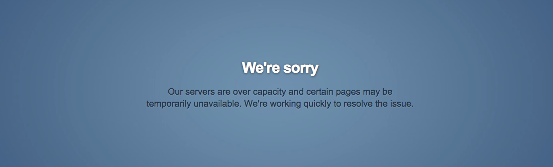 Tumblr Overloaded